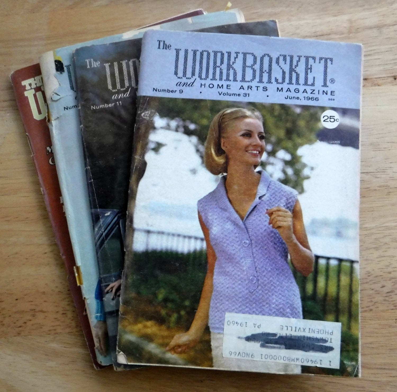 Lot of 4 1960s the workbasket and home arts magazine vintage get shipping estimate bankloansurffo Choice Image