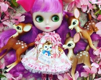 Blythe..Vintage Deer..Sweet Pet for Blythe