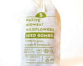 Wildflower Seed Bombs Native Midwest Gardening Gift