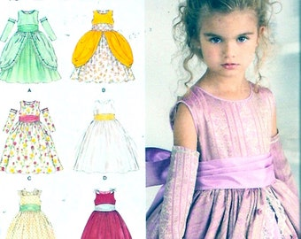 Elegant Flowergirl dress sewing pattern Simplicity 1508 Uncut Sz 4 to 8 Wedding party