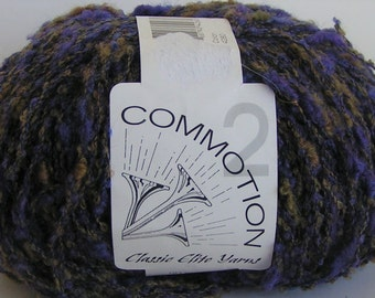 Yarn SALE Commotion Classic Elite Color 4280 Lot 10 approx 50 grams  200 yards