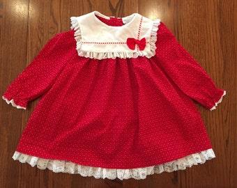 Valentine's Dress Girls 5/6