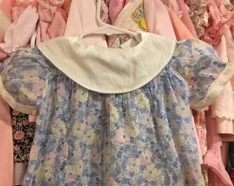 1940s Baby Dress 12/18 Months