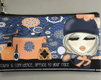 Wristlet - Beauty is confidence, applied to your face.