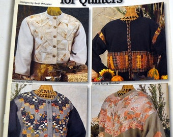 Easy Cardigans for Quilters Sewing Book House of White Birches