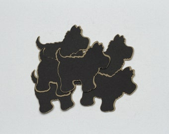 Dog Die Cuts-Dog Die Cut=Dog Paper Die Cuts-Dog Confetti-Dog Invitations-Paper Dogs-Scrapbooking Supplies-Dog Craft Supplies-Dog Lover-Dogs