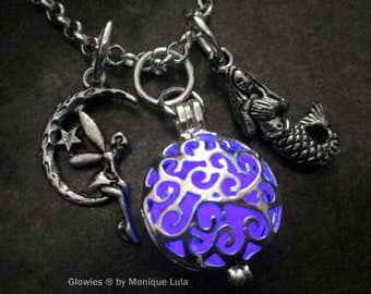 Glowing Jewelry Glowies Glow Lockets 174 By Monique By