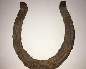 Rusty Rusted Horseshoe Horse Shoe