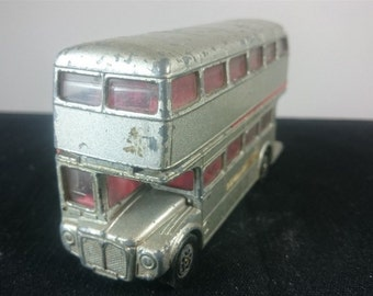 Vintage London Transport Routemaster Bus Toy 1950's