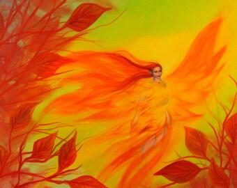 Fire Fairy - Fine Art Print