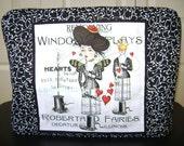 Sewing Machine Cover Standard In Window Display Ladies Fabric