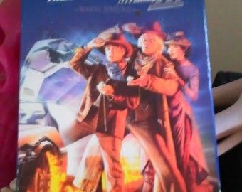 Vintage Back to the Future part III VHS Michael J. Fox Christopher Lloyd VHS Collectable Free Shipping