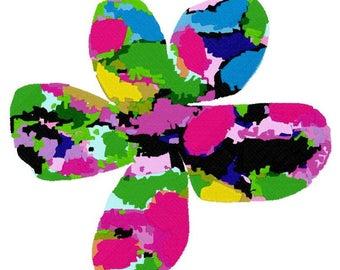 Splash Flower Machine Embroidery Design by Letzrock  3118