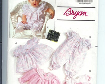 Butterick  IINFANT Dress Panties  and Party Pants  Sewing Pattern 5001 Size  NB-S-M