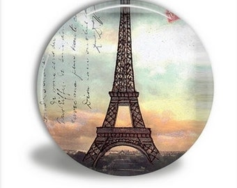 Pocket Mirror - Eiffel Tower Sunset - PM047