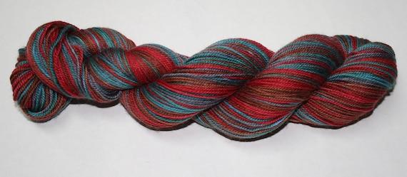 Wild Things Self Striping Hand Dyed Sock Yarn
