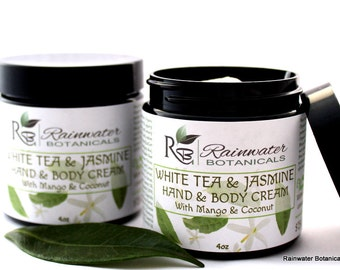 White Tea & Jasmine Hand and Body Cream