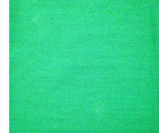 Kelly Green - Large Quilting Cotton Fabric Panel Piece Craft Quilt Sew
