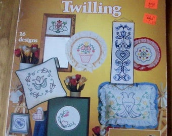 Teach Yourself Twilling by Joyce Drenth and Kristy Soard  c1983  Leisure Arts # 274