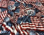 Flag Fabric by Robert Kaufman - Patriots