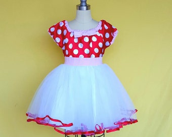 Valentines Day outfit, Valentines Day dress, baby dress, satin RED  polka dot dress, Valentines Day  portrait dress