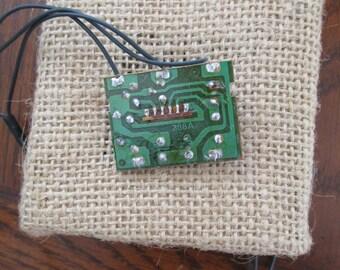Small Christmas Lights Circuit Board Steampunk Supplies