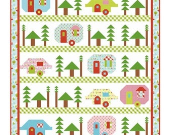 Stitch Happens Quilt Kit Featuring Riley Blake Designs Basics