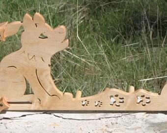 Card / Inkle / Tablet weaving loom - 100 percent figured Maple Wolf Cub - 108 inch warp
