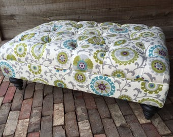 "A Custom Designed Ottoman - Your Fabric, Your Style... by ""Custom Ottoman Designs"""
