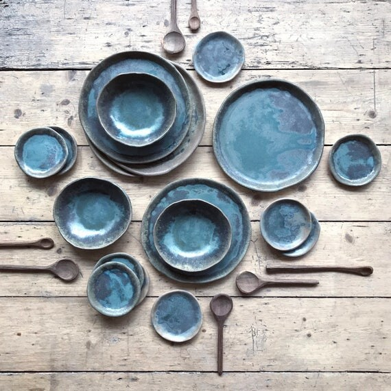 Tiny Plate: Port Meadow Collection