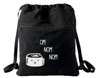Sushi Backpack kawaii sushi bag kawaii japanese bag scene hipster shopping bag cute sushi drawstring tote kawaii food decora japanese food
