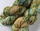 Palm Grove, Hand Dyed Yarn, 4ply Fingering Weight