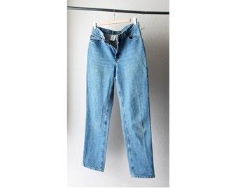 1990's Ralph Lauren Mid Waist Stonewash Denim Jeans