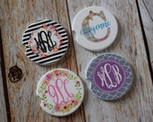 Personalized Car Coasters Monogrammed Car Coasters Personalized Gift