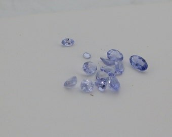 Small Faceted Tanzanite