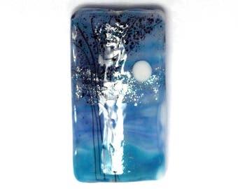 NEW! 11839603 Bluebell Moonlight Kalera Focal Bead - Handmade Glass Lampwork Beads Set