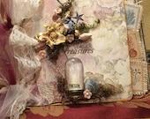 Seaside Treasures Mixedmedia Art Mini Album Junk Journal