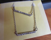 double bar pendent