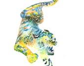 Tiger Spirit Animal Art P...
