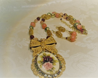 Vintage Rose Russian Gold Collection, Necklace