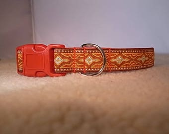 Curry Dog Collar with Side Release Buckle - JRT/Labrador/Vizsla/Poodle/Other Breed