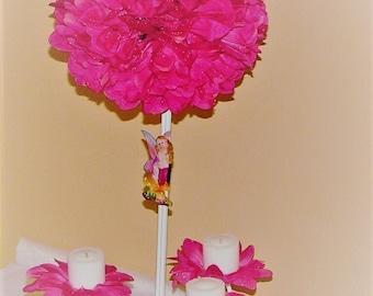 """Wedding centerpiece 7"""" D Pomander Ball Topiary silk Flower Decoration Kissing Ball Centerpiece silk flower centerpiece wedding kissing balls"""