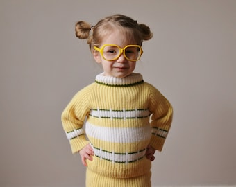 1950s Spring Knit Set~Size 2t