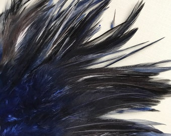 VOGUE HACKLE Dark Navy Blue  ,  / HK - 15