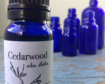 Cedarwood Essential Oil - Aromatherapy - Essential Oil - Essential Oils