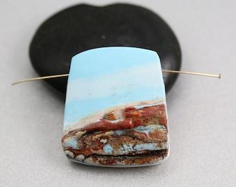Polymer Clay Bead - Desert Scene - Polymer Clay - Pendant Bead