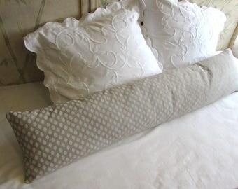 12x54 SAHARA CHALK decorative pillow includes insert