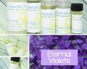Eternal Violets Perfume, Perfume Spray, Body Spray, Perfume Roll On, Perfume Sample, Dry Oil Spray, You Pick the Product You Want