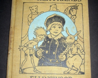 1920s Children's  Reader  - Betty June and Her Friends -  for Display, Collecting or Altered Art, Crafts, etc.