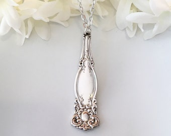 Spoon Jewelry, 1901 WARWICK, Spoon Necklace, Spoon Pendant